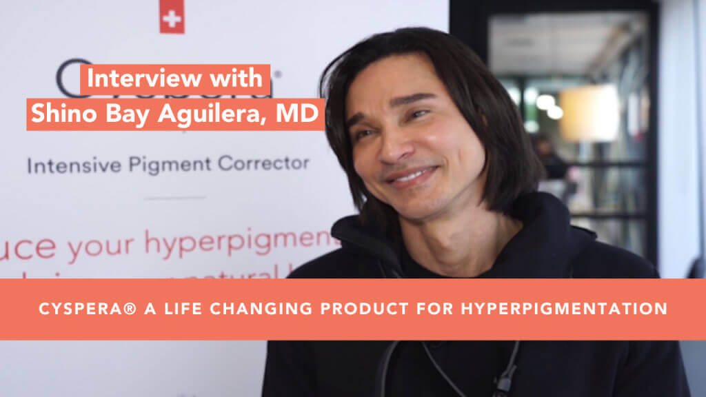 Cyspera, a life changing product for hyperpigmentation